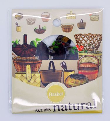 SACK267 Natural Series Sticker Flake Sack - Basket