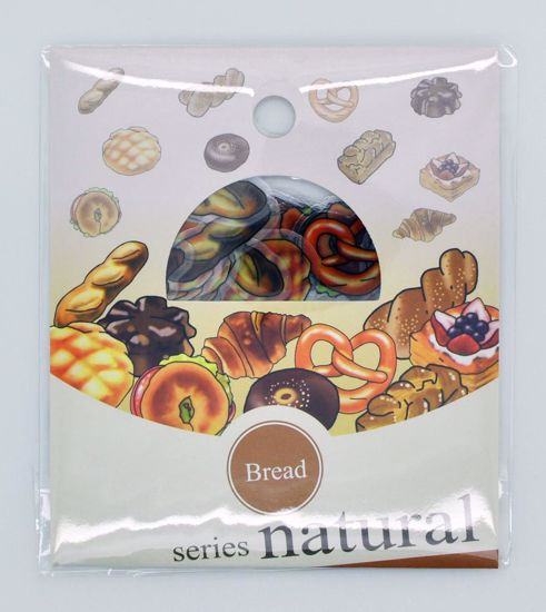 SACK268 Natural Series Sticker Flake Sack - Bread