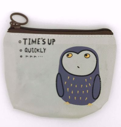 Buy Korean Style Canvas Change Purse - Owl