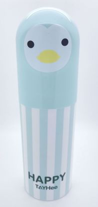Buy Large Travel Toothbrush & Toothpaste Holder / Storage - Green Penguin
