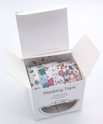 Buy Set of 3 Washi Tape / Masking Tape Rolls 15mm x 5m