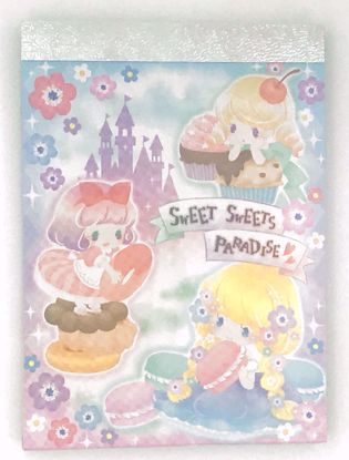 Buy Sweet Sweets Paradise Mini Memo Pad