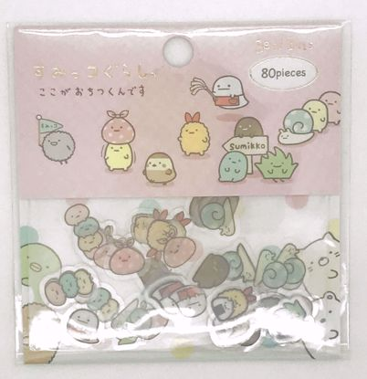 Buy San-X Sumikkogurashi Seal Bits Clear Sticker Flakes Sack - Pink