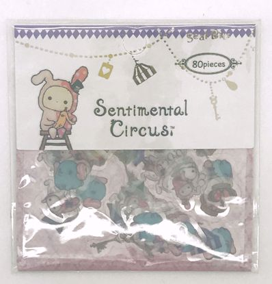 Buy San-X Sentimental Circus Seal Bits Clear Sticker Flakes Sack