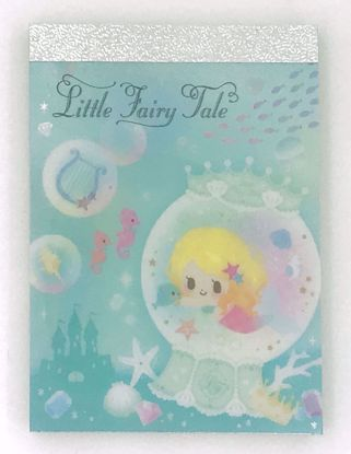 Buy Little Fairy Tale Glittery Mini Memo Pad - D