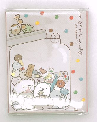 Buy Sumikkogurashi Sweet Shop Sticky Note Pad - 6 designs - A