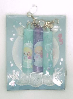 Buy Set of 3 Little Fairy Tale Pencil Caps with Dangling Jewels - A